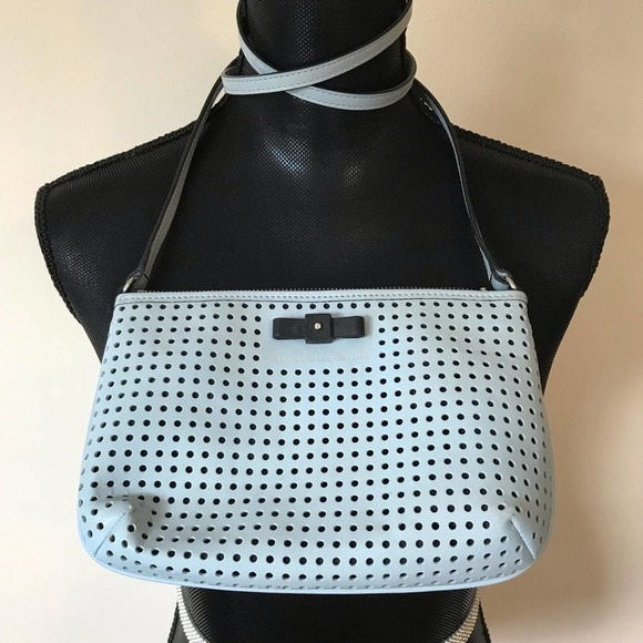 Marc Jacobs Blue Sophistocato Perforated Crossbody